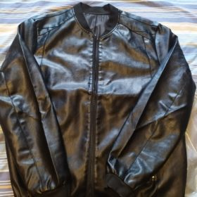 Barney's Leather Jacket photo review