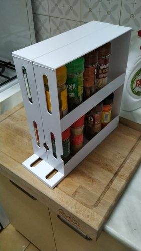 Multi-function Rotating Storage Rack photo review