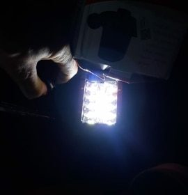3.75'' Dual Side Shooter Dual Color Strobe Cree Pods photo review