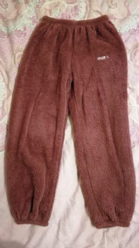 40% Off - Coral Fleece Loose Lazy Pants photo review