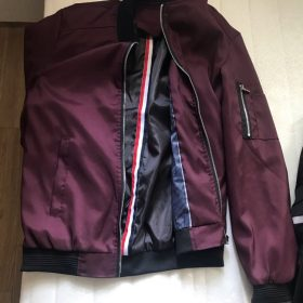 Men's Flight Bomber Jacket photo review