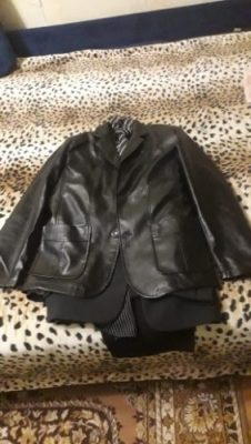 Men's Genuine Leather Lambskin Leather Jacket photo review